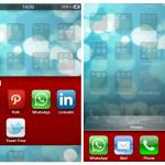Cydia FolderSwitcherColor cambia il colore dello sfondo alle cartelle