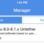 Il tool Pangu che consente il Jailbreak di iOS 8.x si aggiorna