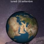 Earth LockScreen, visualizza un globo rotante nella lockscreen