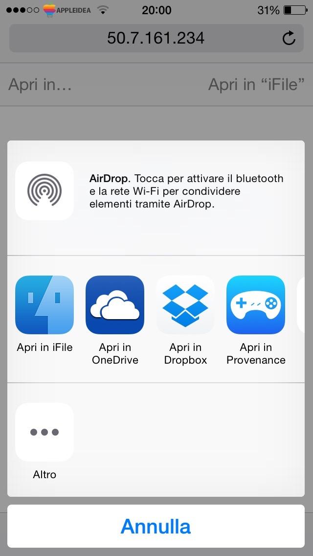 Provenance, un nuovo emulatore per i dispositivi Jailbroken_ Aggiungi ROM