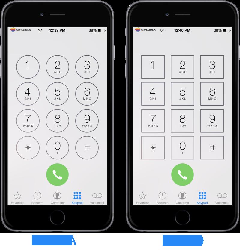Square-Dialer-Buttons,-personalizziamo-l'app-Telefono