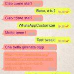 WhatsAppCustomizer, coloriamo i messaggi di WhatsApp a nostro piacimento