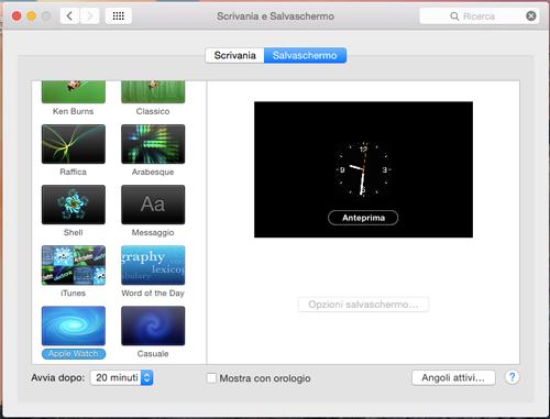 Come installare l'Apple Watch screensaver sul vostro Mac_3
