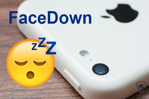 FaceDown, blocca l'iPhone quando ruotiamo il display verso il basso