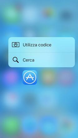 ForceColor, colora l'effetto sfuocato del menu 3D Touch per ogni applicazione_App Store