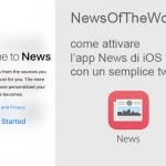 NewsOfTheWorld, come attivare l'app News di Apple con un semplice tweak in iOS 9