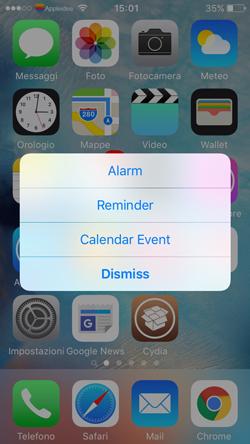 Tether, come creare Sveglie, Promemoria, o eventi di calendario in un modo del tutto unico_2