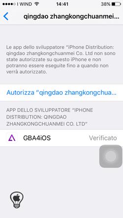 GBA4IOS, come avere un'emulatore compatibile con iOS 9 senza il Jailbreak_Profilo_2