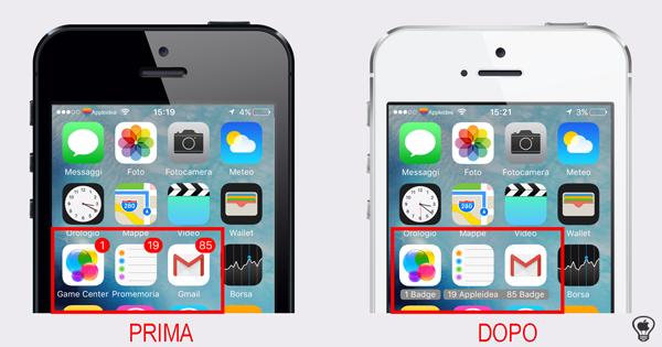 Label Notify, addio badge rossi, sostituisci il nome delle app con il numero delle notifiche