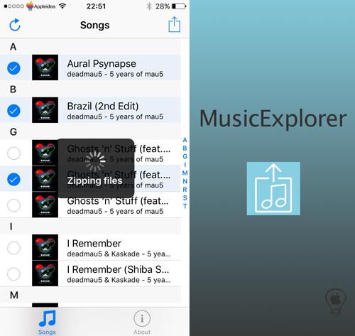 MusicExplorer, condividi o fai il backup della Musica con la massima semplicità