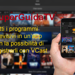SuperGuidaTV, conosci e registra le programmazioni televisive direttamente da un'app