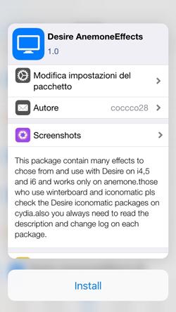 Tactful, come attivare le azioni rapide del 3D Touch e la funzione Peek&Pop nell'app Cydia_PeekEPop