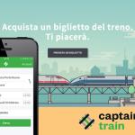 Captain Train, acquista un biglietto del treno per Italia, Francia e Germania direttamente dal tuo smartphone