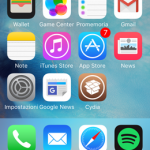 Docker, aggiungi una seconda dock visibile con una gesture nella home screen di iOS