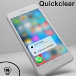 Quickclear, utilizza il 3D Touch per rimuovere i Badge delle notifiche non lette delle applicazioni