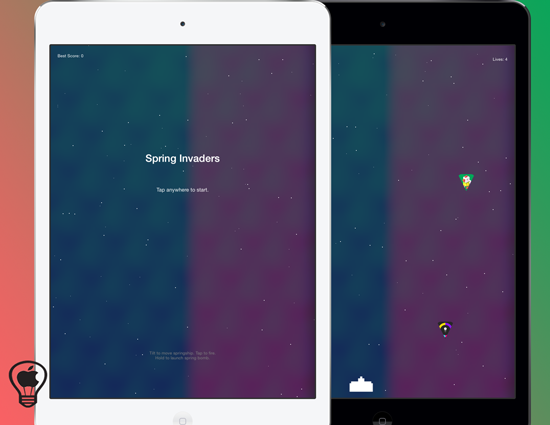 SpringInvaders,-come-giocare-a-Space-Invaders-con-le-icone-delle-applicazioni-direttamente-nella-Home-di-iOS
