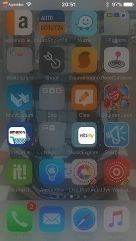 Exsto, attiva un launcher nelle cartelle di iOS per aprire rapidamente qualsiasi app_screen2