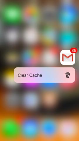 Lautus, rimuovere la cache non è mai stato così facile grazie ai menu del 3D Touch_2