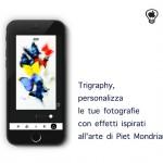 Trigraphy, personalizza le tue fotografie con effetti ispirati all'arte di Piet Mondrian