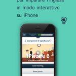 HH English l'app per imparare l'inglese in modo interattivo su iPhone