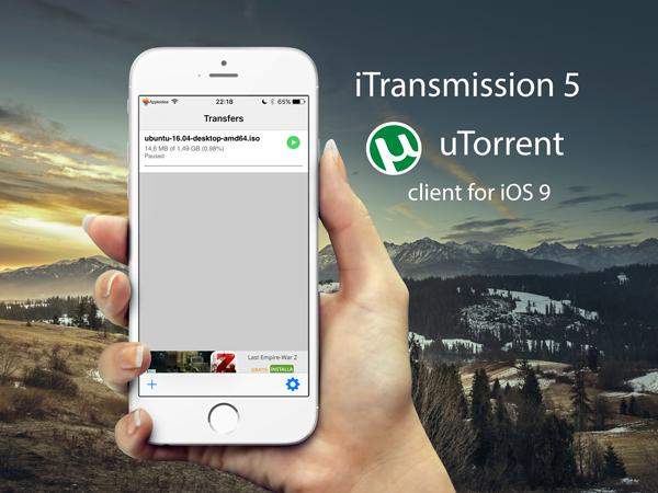 iTransmission 5, come scaricare i file Torrent su iPhone o iPad con una app