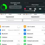 Launchpad, data e ora o controlli musicali ultime notifiche meteo tutto con Reachability