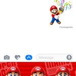 Super Mario Run Stickers sono disponibili sul App Store dedicato agli iMessage