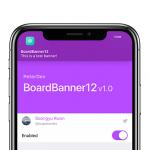 BoardBanner12 integra la notch di iPhone nel banner di notifica