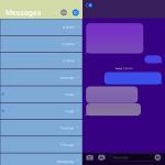 Personalizza la colorazione dell'applicazione Messaggi con Courier